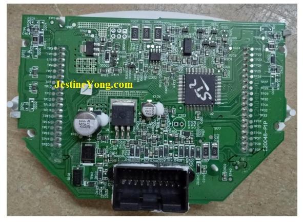 Prigol Digital Odometer board repair