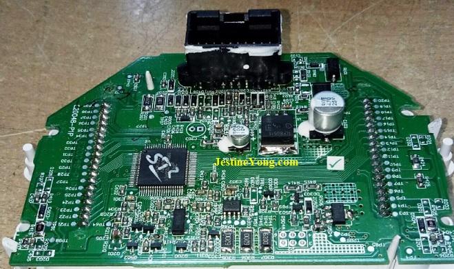 Prigol Digital Odometer board fix