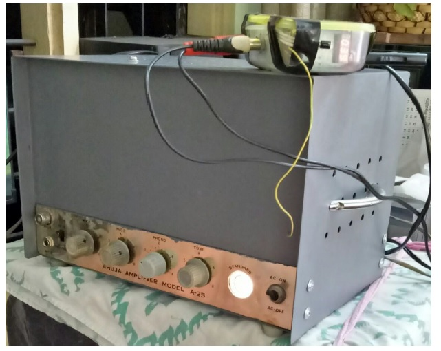 fixing valve amplifier
