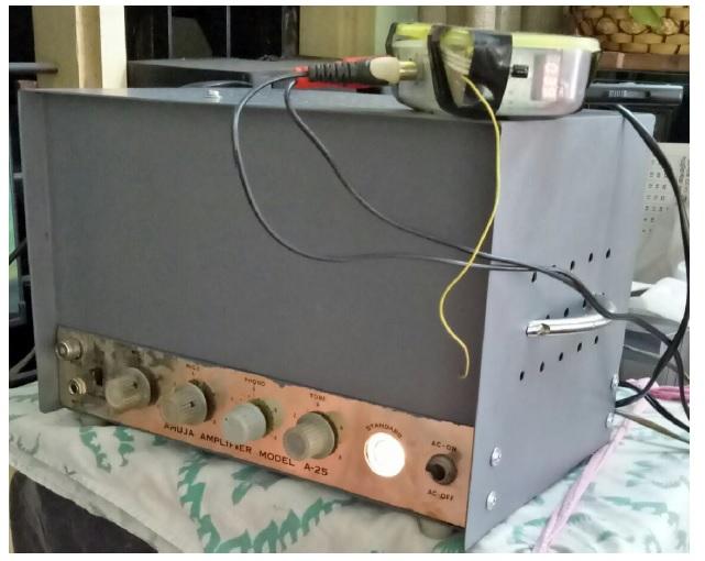 fixing valve amplifier