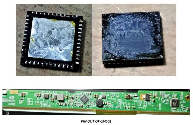 cm501 ic led tv