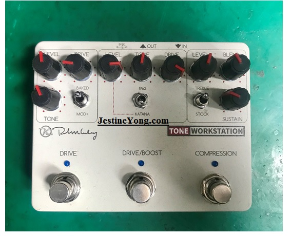 how to fix keeley tone workstation