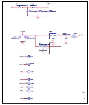 cm501 ic led tv schematic diagram