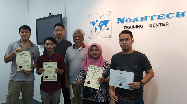 Graduates from Noahtech Computer Repairing and Services