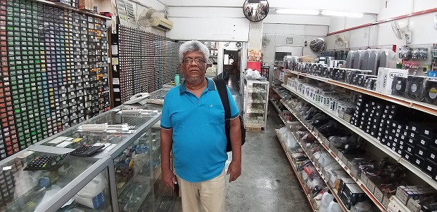 trinidad and tobago student in electronics repair in malaysia