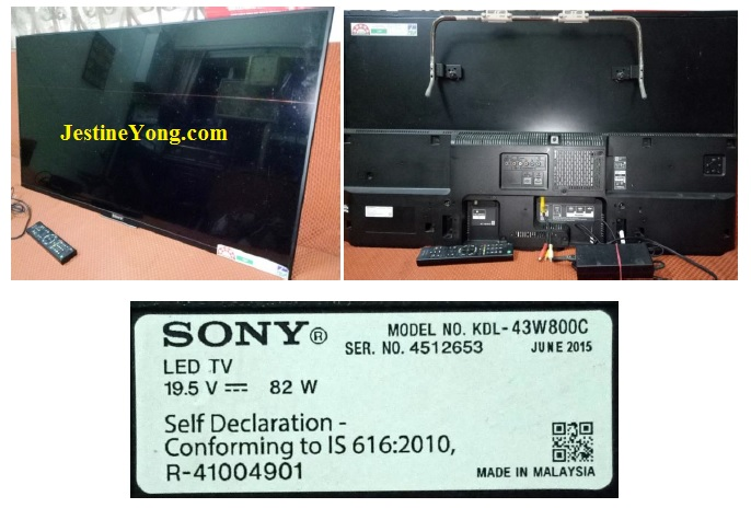 how to fix Sony led with no display problem
