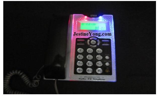caller id telephone repair
