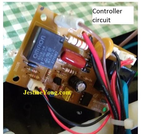 water heater circuit board repair