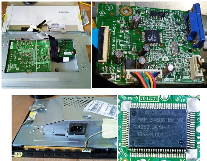 how to fix aoc lcd monitor