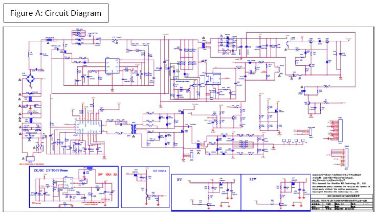 LED TV SCHEMATIC DIAGRAM