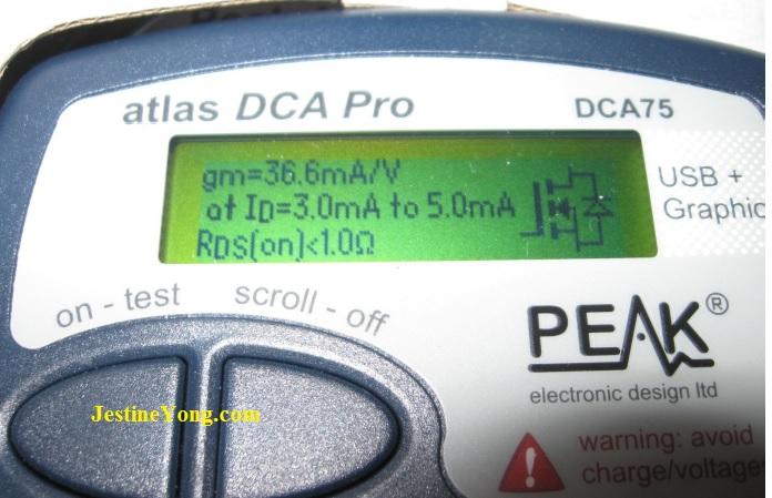 dca 75 pro tester check