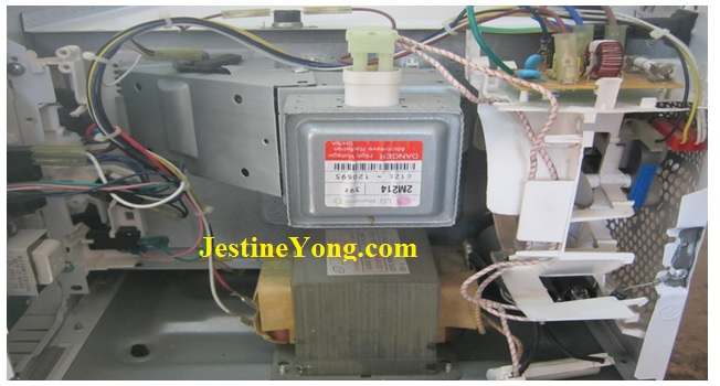 internal microwave oven