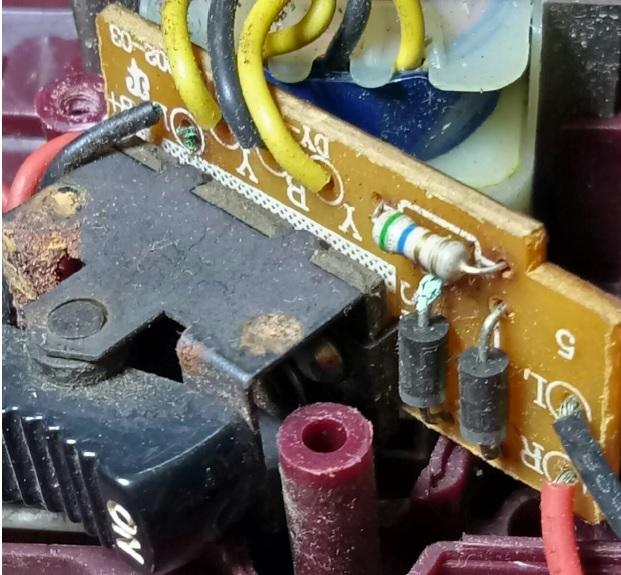 elektra torch repair fungus