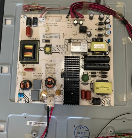 PHILIPS POWER SUPPLY BOARD LED TV REPAIR