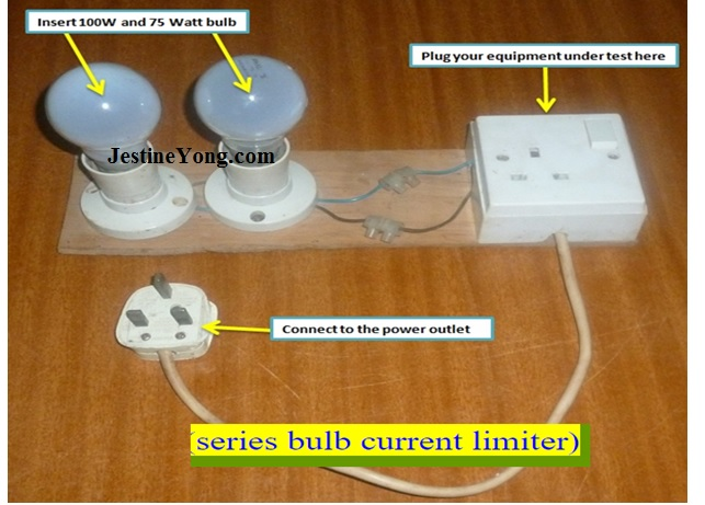 series bulb current limiter
