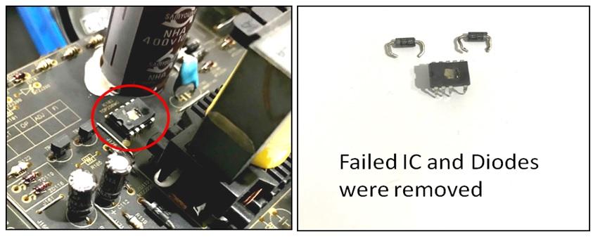 how to fix denon amplifier no power