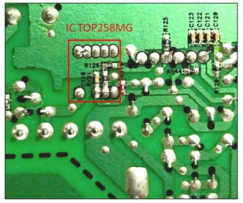 singaporean repaired amplifier