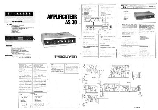 servicing amplifier bouyer