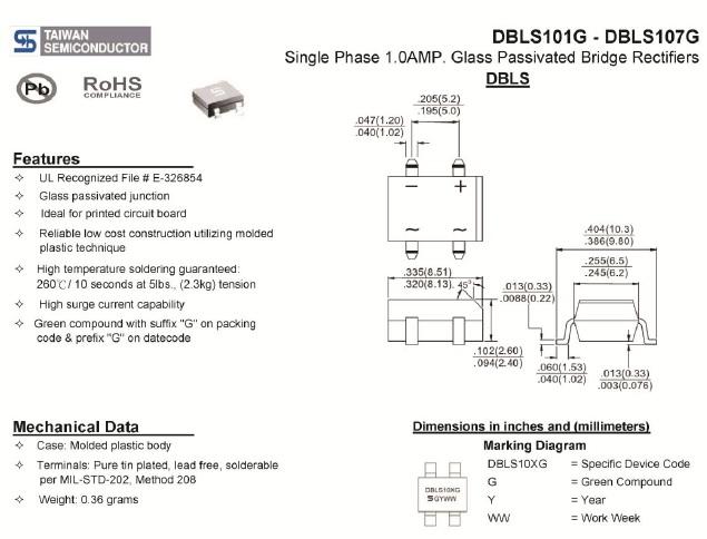 dbls101g datasheet