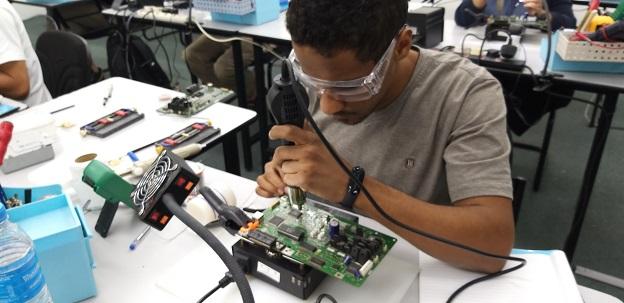 libya student study bga repair