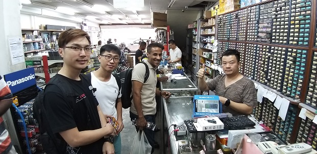 Singapore study electronics repair course