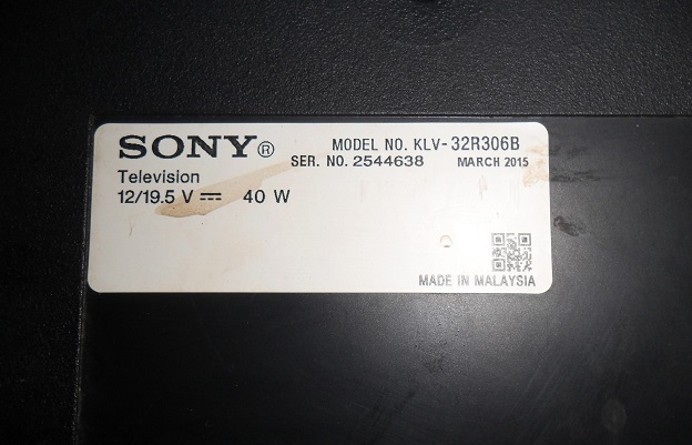 how to modify led tv sony
