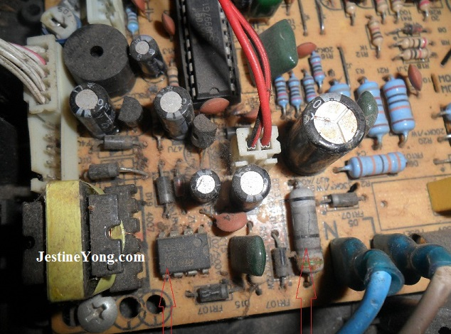 induction cooker no power repair