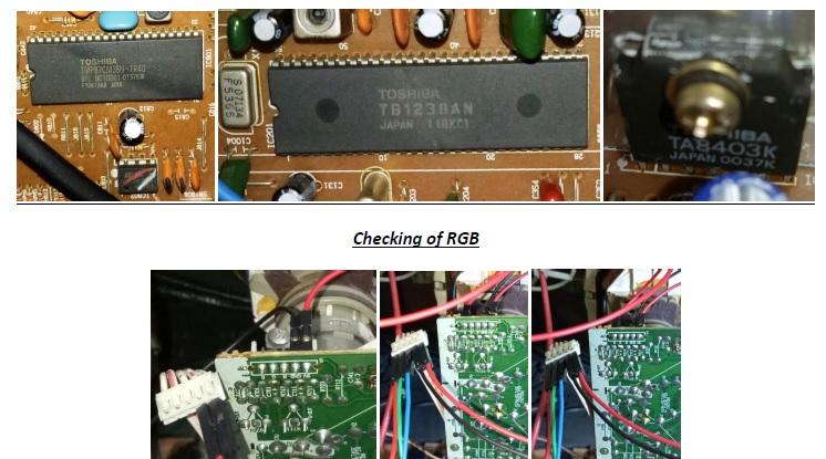 micro controller tv bpl ic