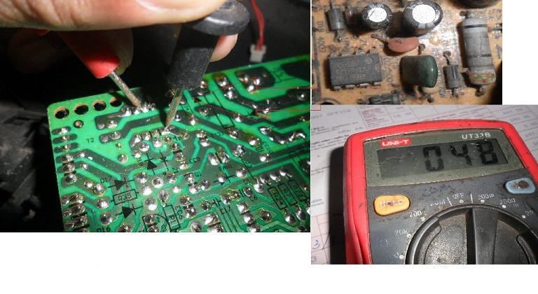 how to repair induction cooker no power