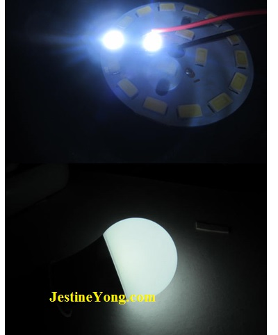 how to fix and repair led light bulb easily