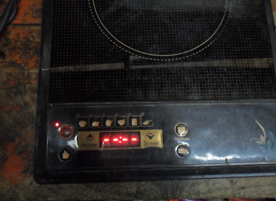 fixing induction cooker with no power