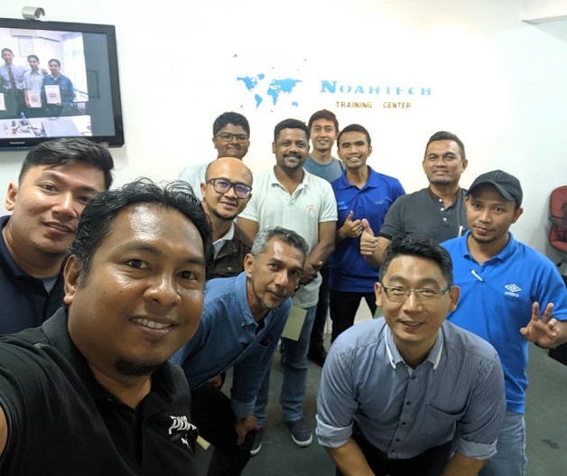 electronics repair training in malaysia for dssb and aat staff