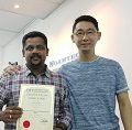 India student study electronics repair in malaysia