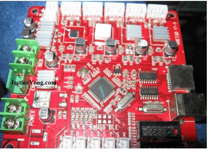 a8 anet 3d printer repair