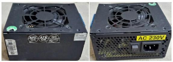 recheck atx power supply