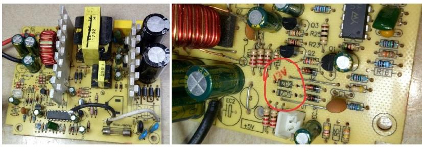6v2 zener diode bad