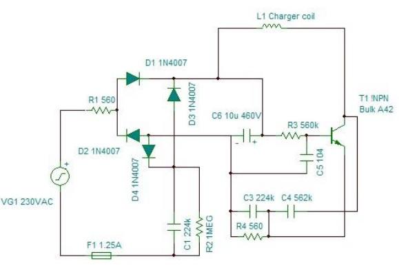 flashlight circuit