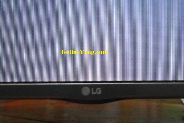 TV vertical lines repair