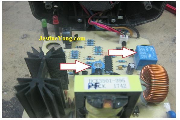 battery circuit board repair