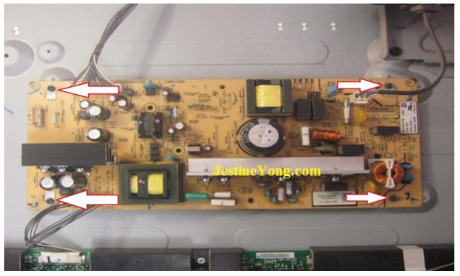 how to repair led tv flashing