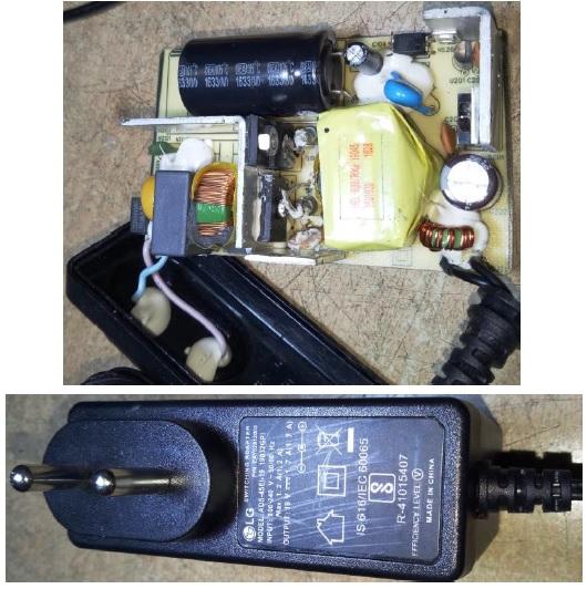 lg monitor power supply repair