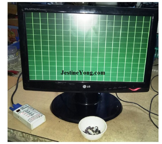 how  to fix lg lcd monitor