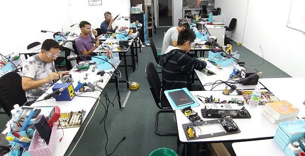 how to use oscilloscope for singapore student study in malaysia