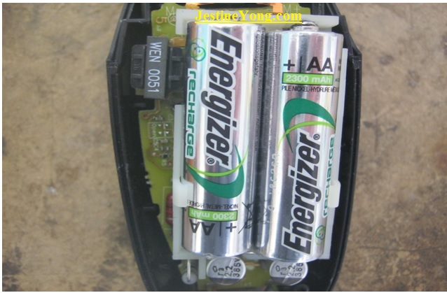 rechargeable batteries corrosion