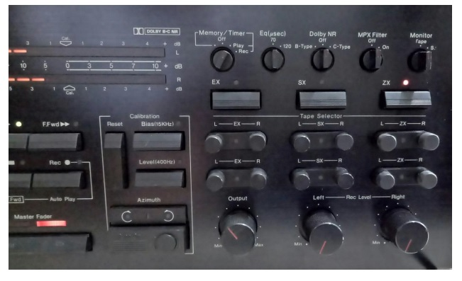 how to repair and fix nakamichi tape deck