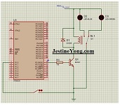 microcontroller relay circuit