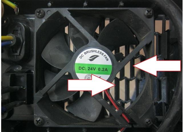 fan vibration welding machine repair