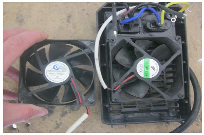 fan problem in welding machine moller