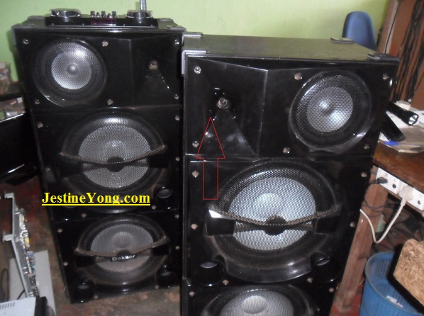 tweeter speaker repair