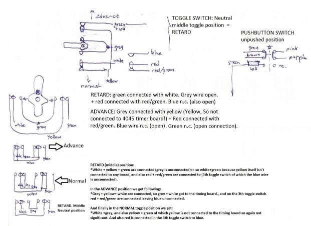 Gent's XC408 Master clock circuit board diagram repair